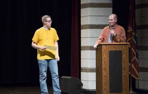 Spring Awards Assembly Features Lindi Moore
