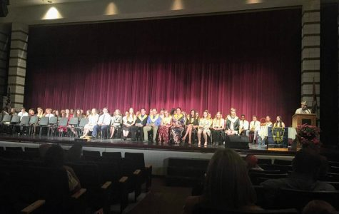 National Honors Society Welcomes New Members