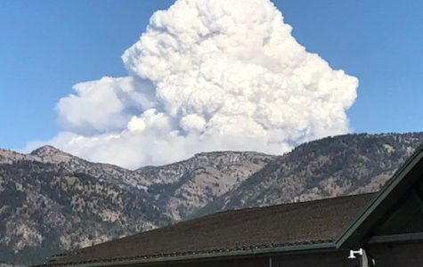 Fire Causing Trouble in the Mountains