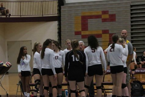Volleyball Team Dominates Home Invite