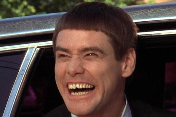 MERRY CHRISTMAS: Carrey showing his funny side in a movie SVHS likes better than all his others, Dumb and Dumber.