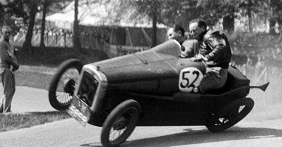 CLASSIC: Auto racing was wildly dangerous in the 1930's.