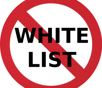 White Listing Gets Blacklisted