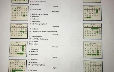 2019-20 School Calendar Released
