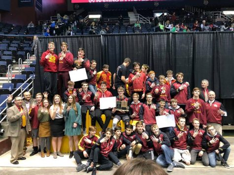 Braves Wrestling Picks up Fourth Straight State Title