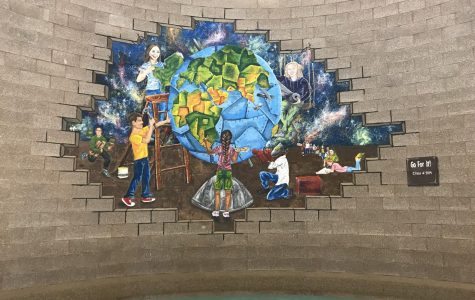 New Mural Adorns Rotunda Wall