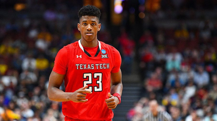 FOCUSED: Second team All-American, First Team All-Big 12, and Big 12 Player of the Year Jarrett Culver looks ready to play as the Texas Tech faces off against Northern Kentucky in the first round of March Madness.