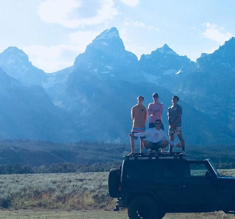 JEEP+JEEP%3A+Moya+and+his+gang+show+off+their+wheels+and+home+land+with+the+majestic+Tetons+in+the+background