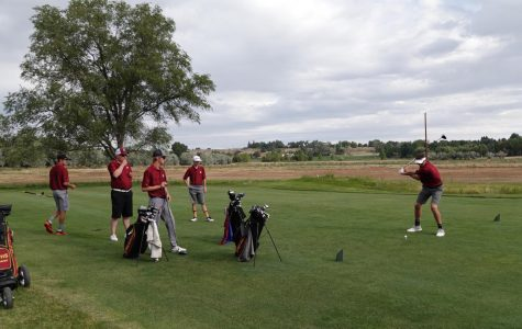 Golfers Come in Swinging