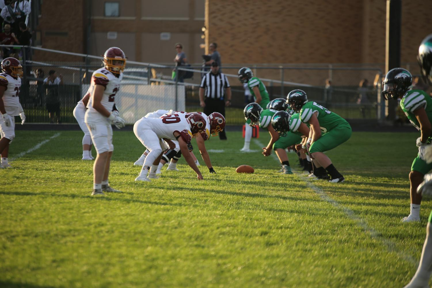 THE BOYS IN THE TRENCHES: Linemen don't score many touchdowns or catch many passes, but they make it possible for others to do so.