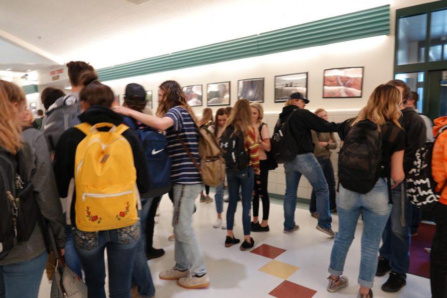 Students Seek out School Destinations