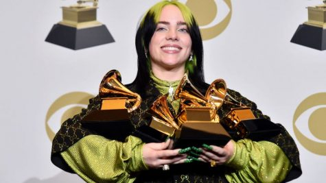 Eilish Cleans up at Grammy Awards Show