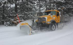 SNOWBLIND: With all this unexpected snowfall, snow plows scramble to keep the roads clear  and safe for the public.