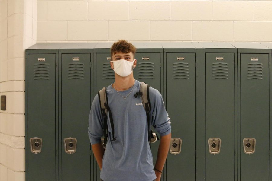 """TO COOL FOR SCHOOL: Senioritis has Gabe Clinger in a dark pace. """"This valley sucks! I want to go to southern California, get a beach house with some beach friends, and have the best life."""""""