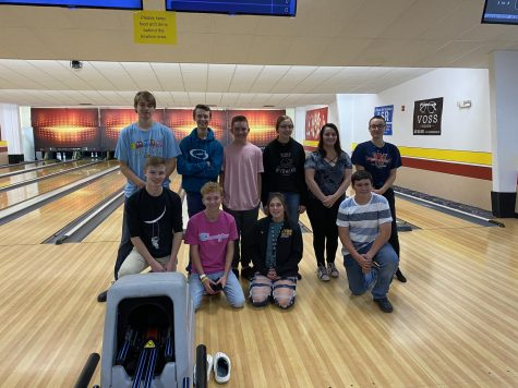 ROLLERS: Youth bowlers hit the lanes in an effort to earn a trip to a national junior bowlers tournament in July.