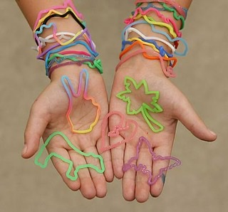 "Silly Bandz came in all shapes and sizes and if you were wearing them you were considered ""cool."""