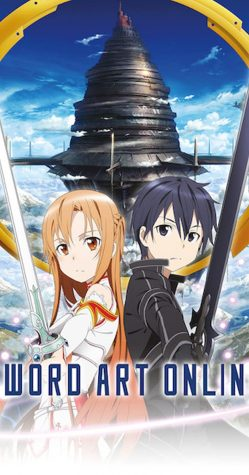 Virtual Reality: Sword Art Online is about two people, Kirito and Asuna, who play through virtual reality worlds. This is one example of the variety West Hoggan enjoys about anime. The first three seasons are currently available on Netflix.