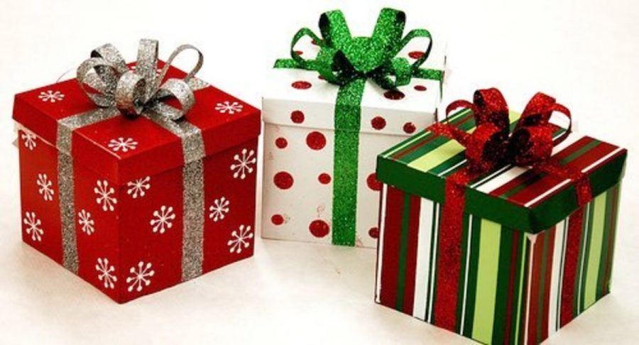 CHRISTMAS TIME: The time for receiving and giving gifts. Students love this time of the year.