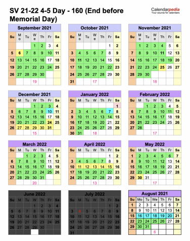 DAYS OF OUR LIVES: This proposed calendar will be the one setting next school year