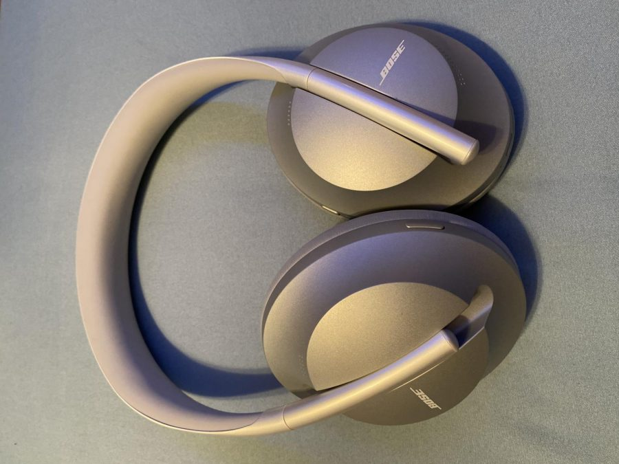 LUCKY: Honour Dickey received new headphones for her Christmas present. In 1958, John Koss created the first stereo headphones.