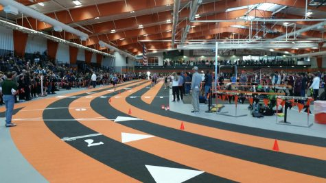 Casper Wyoming Indoor Track arena
