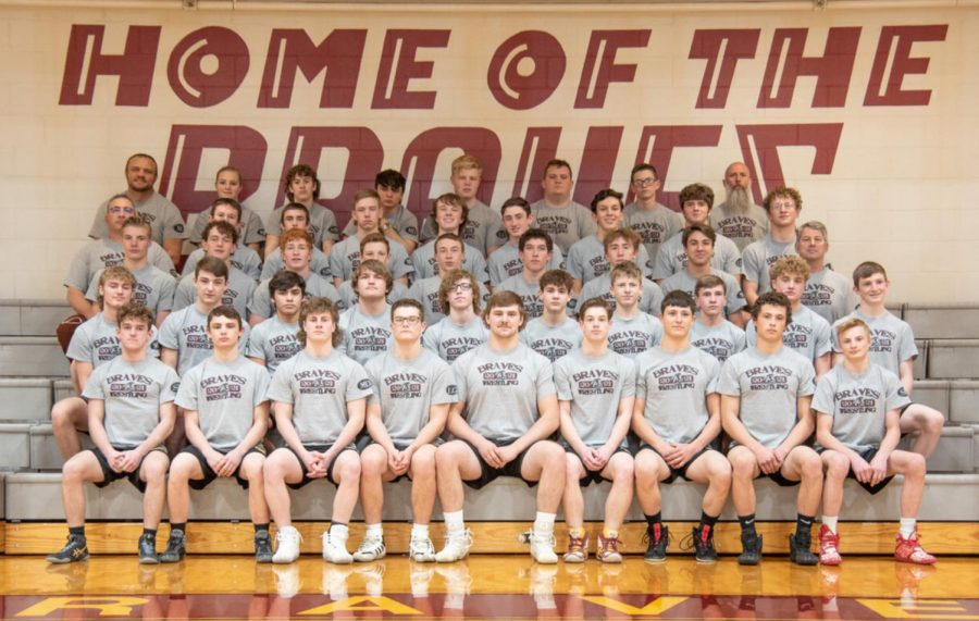CHAMPIONS+ASSEMBLE%3A+The+wrestling+team+will+go+for+their+6th+straight+state+title+during+the+last+week+of+February.+