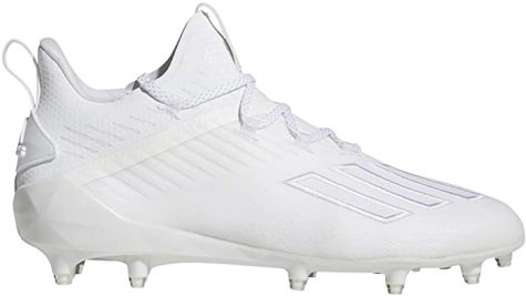 "ADIDAS FOOTBALL: With many Nike and Under Armor shoes out there, Adidas has claimed their place in the market. A multi-purpose cleat for all positions, Adidas cleats are very versatile, light weight and durable. ""I love the Adidas cleats because they look super good and are comfortable and hold up in all weather types,"" said Winston Greeen."