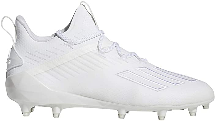 """ADIDAS FOOTBALL: With many Nike and Under Armor shoes out there, Adidas has claimed their place in the market. A multi-purpose cleat for all positions, Adidas cleats are very versatile, light weight and durable. """"I love the Adidas cleats because they look super good and are comfortable and hold up in all weather types,"""" said Winston Greeen."""
