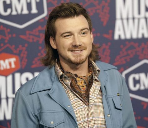 SMILE: Country star Morgan Wallen poses at the 2019 CMT Music award show. Wallen recently released a new album, Dangerous: The Double Album.