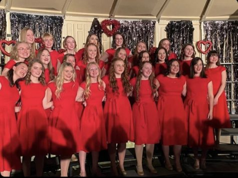 TONED OUT: Treble Tone singers take the stage for their traditional Valentine