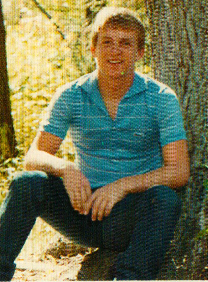 80's CHILD: Mr. McKay Erickson in 1985 when he was just a senior at SVHS like the thousands he would later go on to teach over the next three decades.