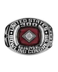 LORD OF THE RINGS: It takes a perfect score of all strikes to earn this ring from the US Bowling Congress.