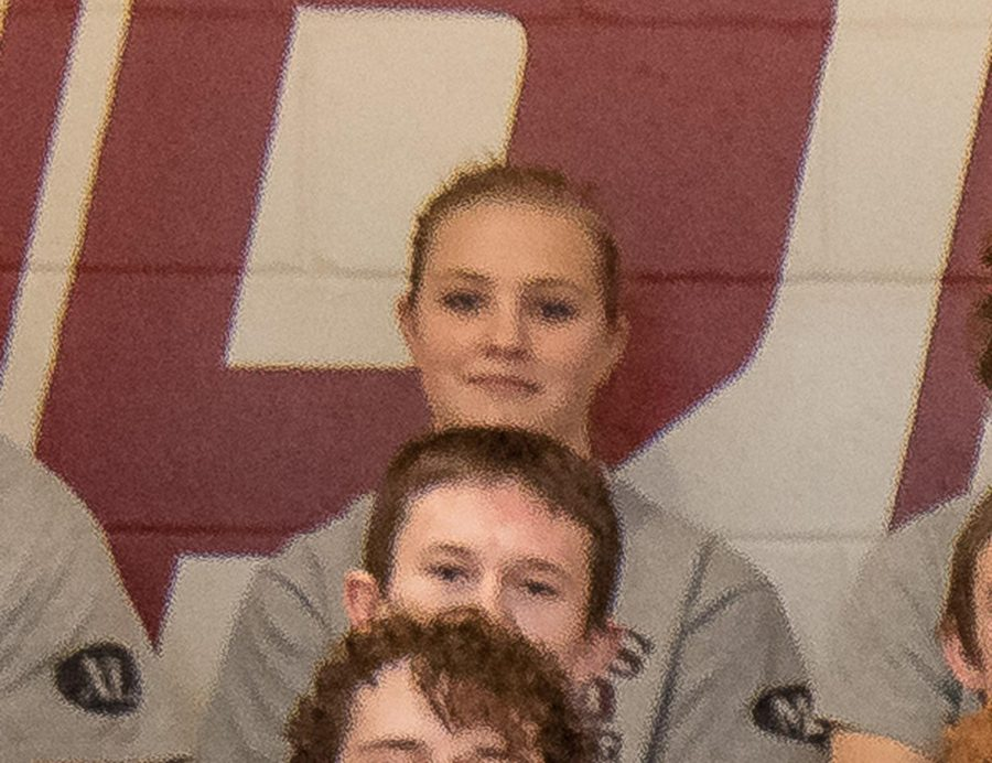 GIRL POWER: Freshman Samantha Walker settles in with boys as a wrestler on the team.