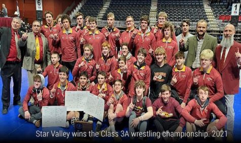 6 IN A ROW: The Braves recently celebrated their 6th state title in a row.
