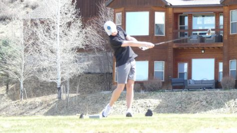 GONE: Sophomore PJ Horsley going low at the Star Valley